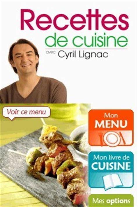 t駘馗harger jeux de cuisine recette cuisine ds cyril lignac images