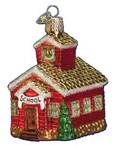Ornament Gift Old World Christmas Ornaments House 20007