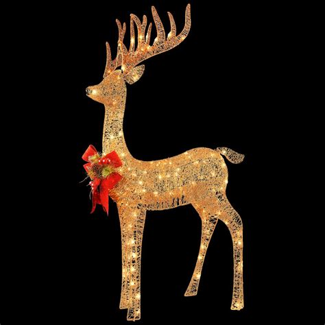 national tree company 48 in pre lit standing reindeer df