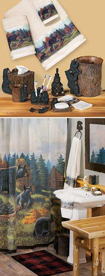 bear decor for bathroom 17 best ideas about black bear decor on pinterest bear