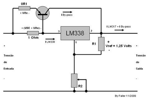 transistor como resistor variavel fonte chaveada regulavel eletr 244 nica f 243 rum do clube do hardware