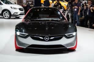 Opel Gt Weight Opel Gt Concept For Geneva Is An Ultra Lightweight Sports Car
