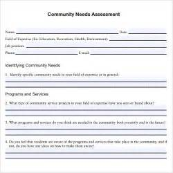 Community Template by Sle Assessment 9 Free Sles Exles Format