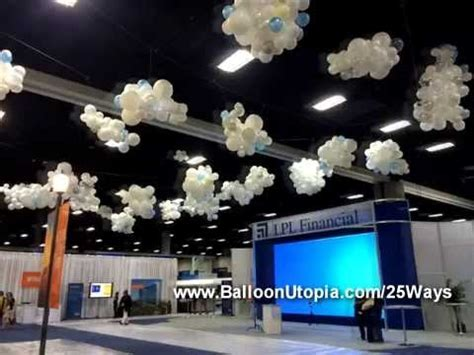 How To Make Balloon Clouds?   YouTube
