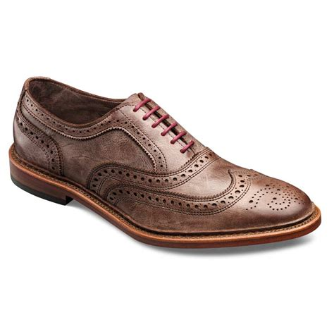allen edmonds oxford shoes neumok unlined wingtip lace up oxford s casual shoes