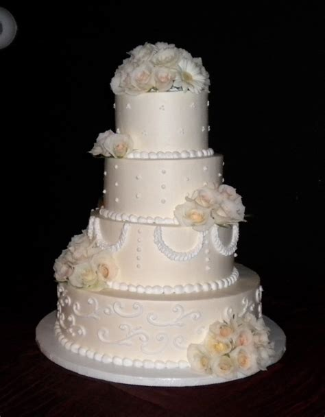 Wedding Tier Cake by 4 Tier Wedding Cakes Cake Decotions