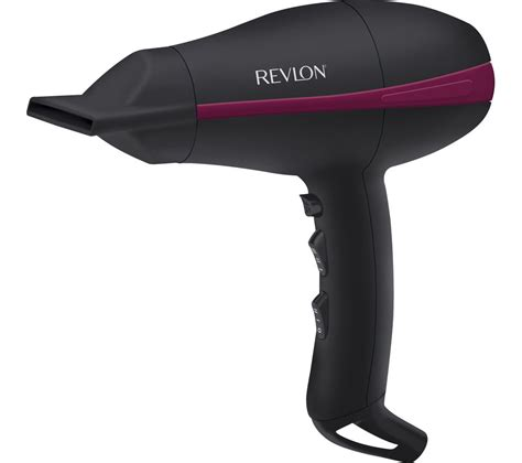 Hair Dryer Power Consumption buy revlon tempest power hair dryer black free