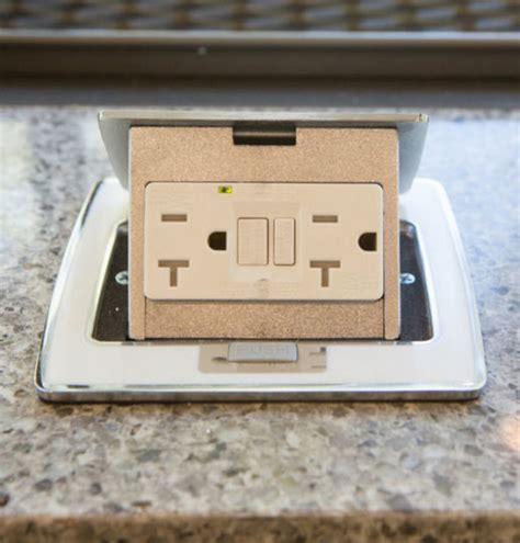 Pop Up Electrical Outlet Countertop by Kitchen Countertop Outlet Pop Up Countertop Electrical