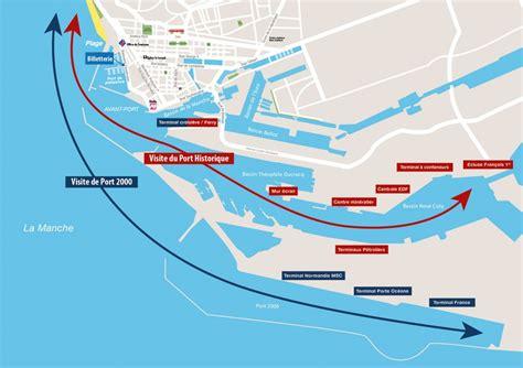 visite le havre circuit de la visite du du havre en bateau