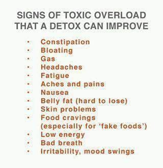 Signs Of Detox by Signs Of Toxic That An Alkaline Detox Can