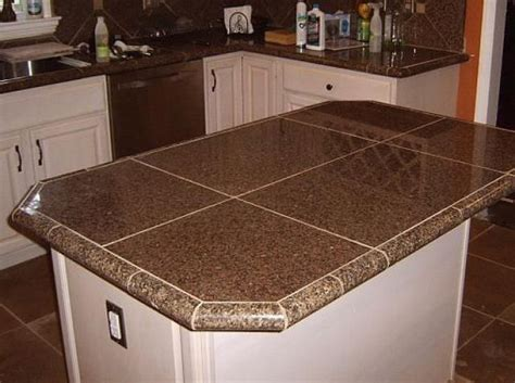 kitchen countertop tiles ideas 23 best bath countertop ideas images on pinterest