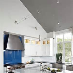 Track Lighting Kitchen Sloped Ceiling by 9 Best Images About Vaulted Ceiling Lights On