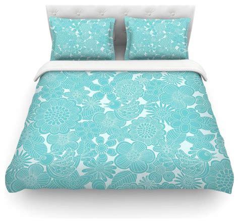 Aqua Duvet Cover Sets grifol quot turquoise birds quot aqua blue duvet cover