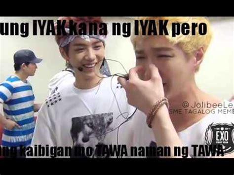 Exo Tagalog Memes - exo tagalog memes part1 youtube