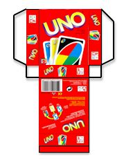 uno card template crafts for 21 uno cards and box template