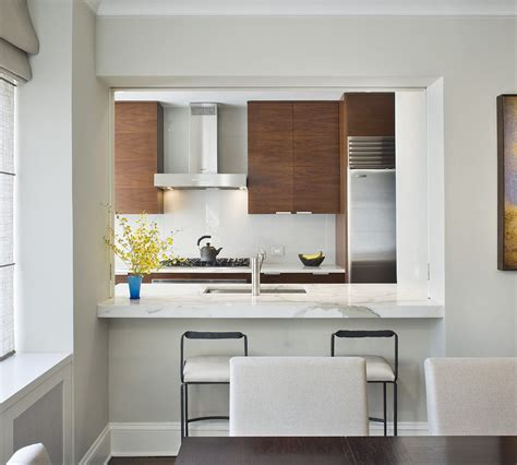 kitchen pass through pass through kitchen kitchen contemporary with wide plant