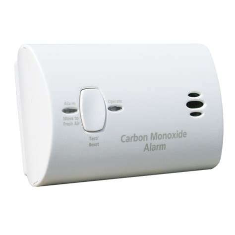 battery operated basic co alarm home safety co