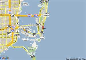 where is miami florida on the map map of the strand drive miami