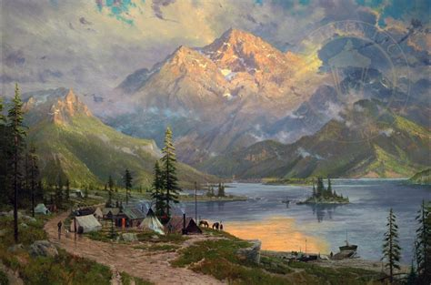 the edge of the the edge of the wilderness the thomas kinkade company