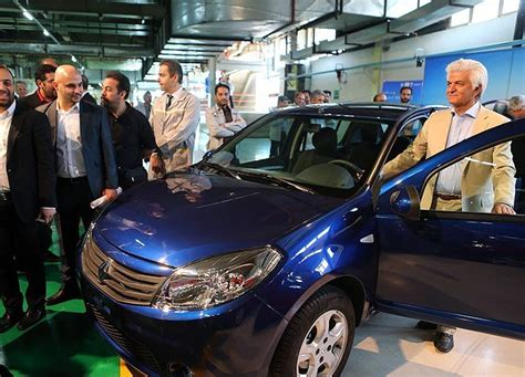 production of renault s sandero launched in iran real iran