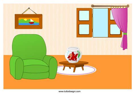 disegno interni casa interno immagine colorata tuttodisegni