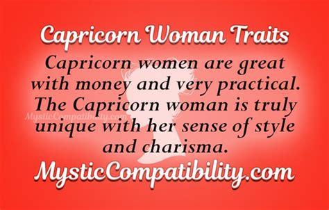 dating a capricorn woman behavior