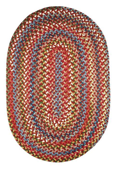 teppiche oval oval braided rugs oval country jewel braided rug 2 x 3