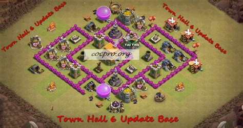 update layout coc best base town hall 6 top th6 war base coc th 6 2017