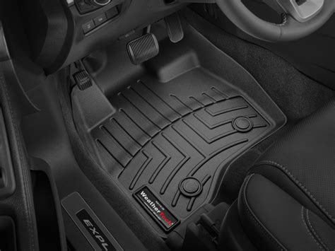 weathertech floor mats floorliner for ford explorer 2017