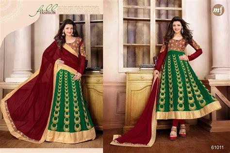 Baju India Asli Anarkali Bordir Jumbo mf 61011 fashion