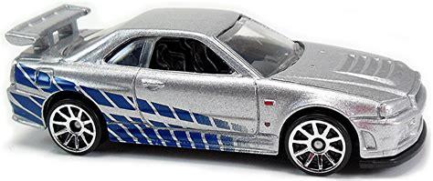 Wheels Hw Nissan Skyline Gt R R34 Fast Furious Fnf Hotwheels nissan skyline gt r r34 r32 77mm 2010 wheels newsletter