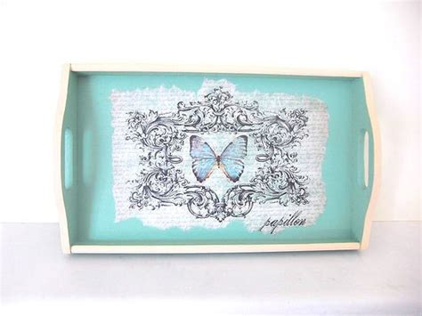 Decoupage Tray Ideas - 17 best images about decoupage serving trays on