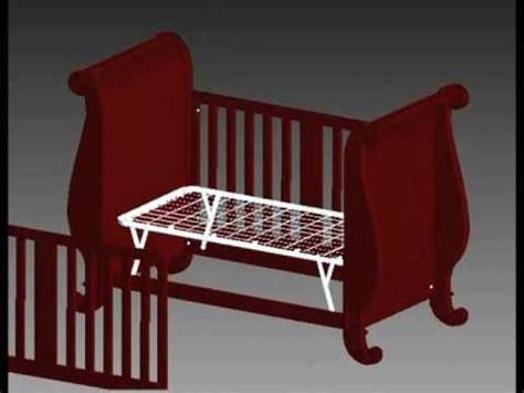 bratt decor assembly chelsea sleigh crib