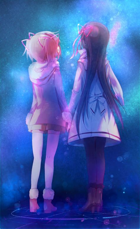 2 Anime Friends by 183 Best Lilia And Nael