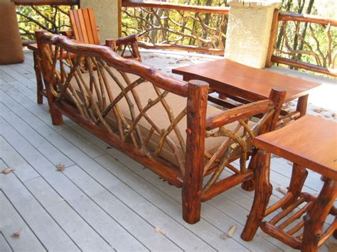 Handmade Patio Furniture - rustic outdoor furniture handmade by appalachian designs