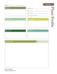 vegetable garden journal templates garden journal