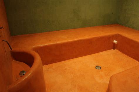 baignoire traditionnelle hammam tadelakt meuble bois tadelakt vasques en tadelakt