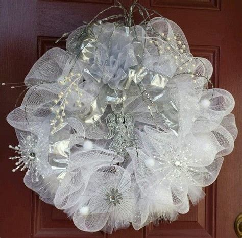 Wedding wreaths, Deco mesh and Wreaths on Pinterest