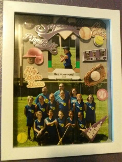 sports box ideas 3d shadow box to display sports pictures wanna do for my