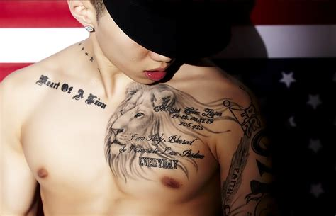 jay park tattoo cool tattoos designs