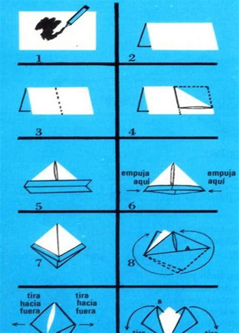 un barco de papel c 243 mo hacer un barco de papel