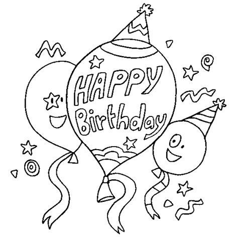 happy birthday dinosaur coloring page fel 237 z cumplea 241 os dibujos para descargar imprimir y
