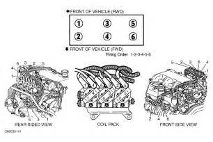 1998 chevrolet lumina firing liter v6 which wire goes