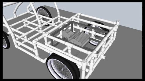 build from pvc pipe car pvc buggy part 1 intro youtube