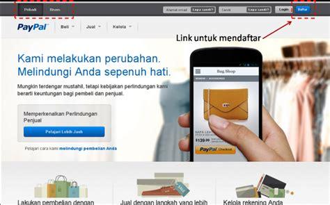cara membuat paypal untuk menerima uang kerja bisnis online paypal