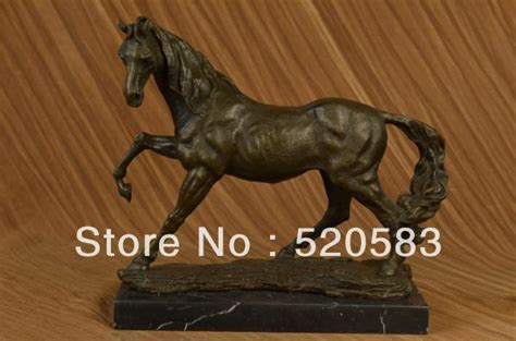 wby 516 bronze marble statue equine horse farm decor bronze marble statue equine horse farm decor western