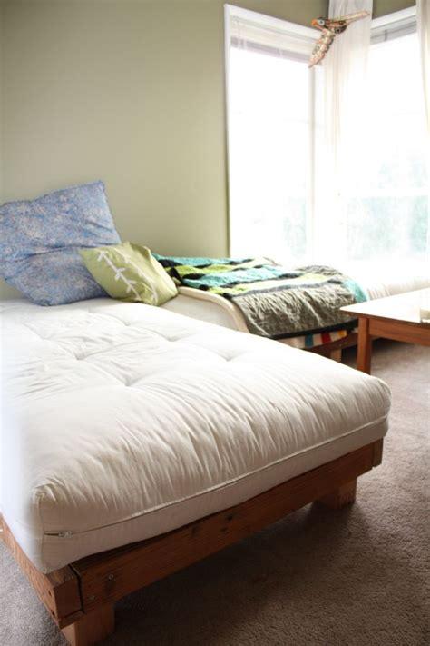 diy sofa mattress diy sectional guest bed digs