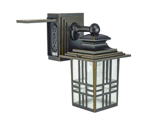 outdoor light fixture with outlet lighting fixtures outdoor light fixture with electrical