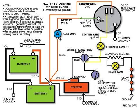 wiring an ignition switch to a tractor wiring get free