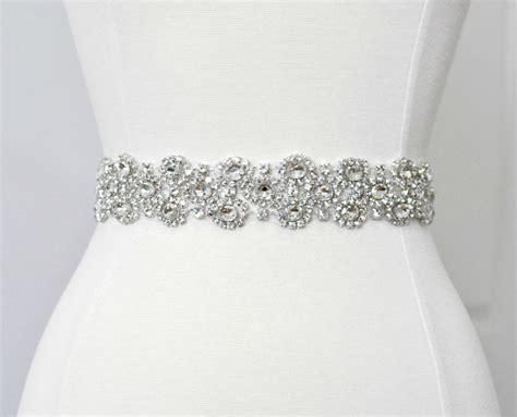 bridal belt rhinestone sash bridal sash bridal belt
